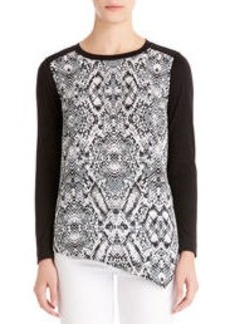 Asymmetrical Hem Shirt