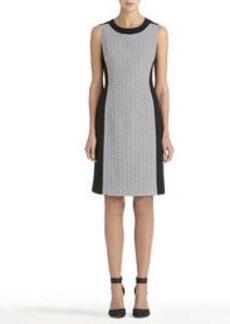 Black and Ivory Sheath Dress