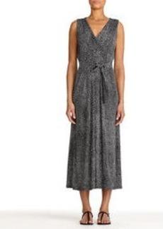 Black and White Maxi Dress (Plus)