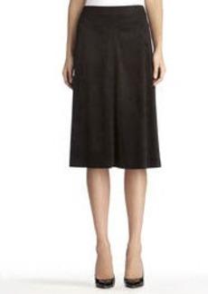 Black Boot Skirt (Plus)