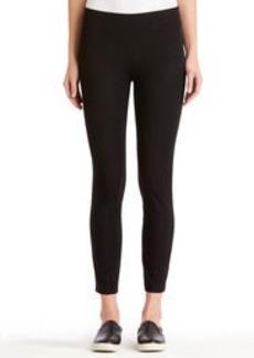 Black Pull-On Ankle Pants (Plus)
