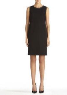 Black Sleeveless Dress (Plus)