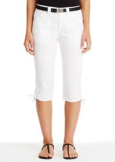 Cargo Pants with Side Ties