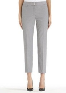 Classic Ankle Length Houndstooth Pants