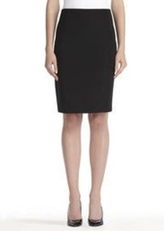 Classic Black Pencil Skirt (Plus)
