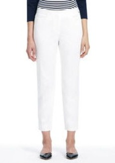 Classic Sateen Cropped Pants (Petite)