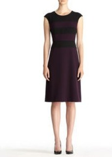 Color Block Sheath Dress