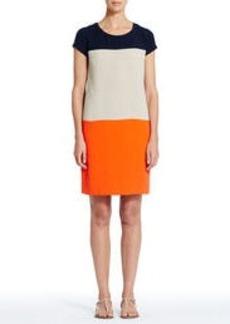 Colorblock Shift T-Shirt Dress