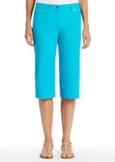 Cotton Cargo Skimmer Pants
