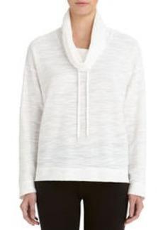Cowl Neck Pullover (Plus)