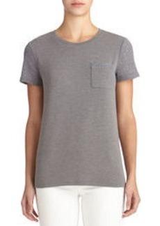 Crew Neck Tee Shirt (Petite)