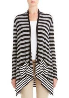Drape Front Cardigan Sweater