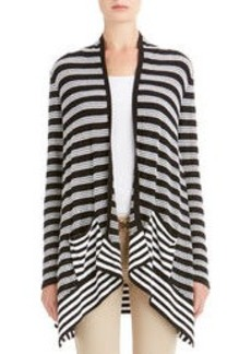 Drape Front Cardigan Sweater