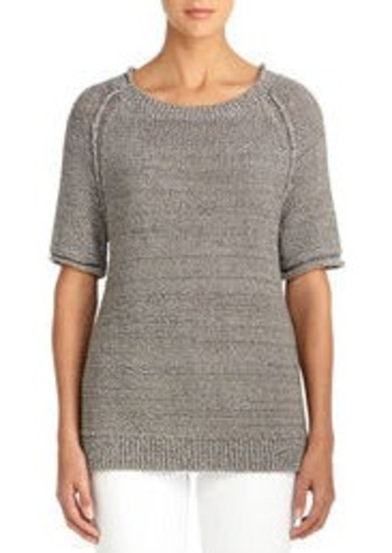 Elbow Length Raglan Sleeve Sweater