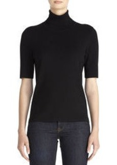 Elbow Sleeve Turtleneck Sweater (Petite)
