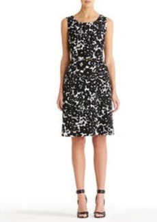 Fit and Flare Dress with Welt Pockets