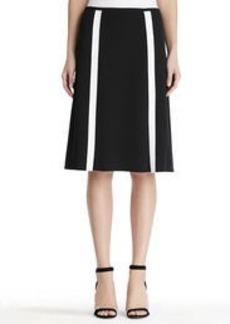 Flap Front A-Line Skirt (Petite)