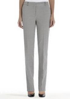 Jacquard Stovepipe Pants