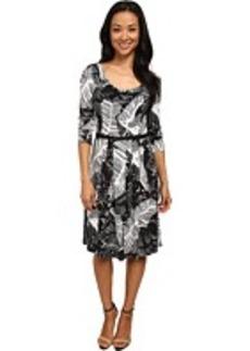 Jones New York 3/4 Sleeve Dress