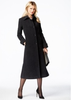 Jones New York A-Line Maxi Walker Coat