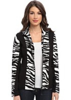 Jones New York Animal Print Jacket