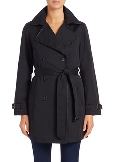 JONES NEW YORK Belted Trench Coat