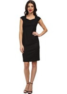 Jones New York Brooke Bolero Neck Dress