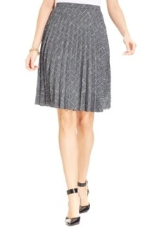 Jones New York Collection A-Line Pleated Skirt