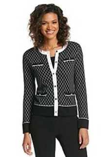 Jones New York Collection® Diamond Cardigan