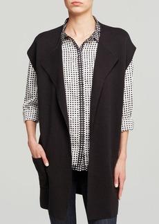 Jones New York Collection Open Cardigan Vest