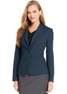 Jones New York Collection Petite Emma One-Button Blazer