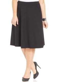 Jones New York Collection Plus Size A-Line Skirt