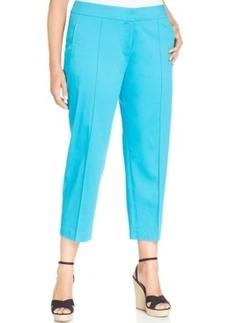 Jones New York Collection Plus Size Grace Capri Pants