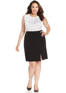 Jones New York Collection Plus Size Pencil Skirt