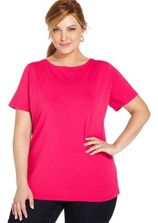 Jones New York Collection Plus Size Short-Sleeve Tee