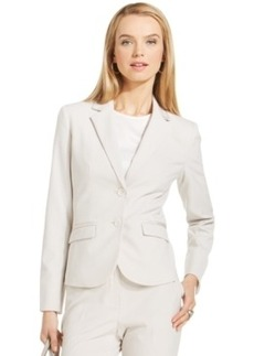 Jones New York Collection Ribbon-Trim Olivia Blazer