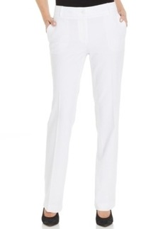 Jones New York Collection Solid Wide-Leg Flare Pants