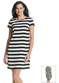Jones New York Collection® Stripe Woven Dress