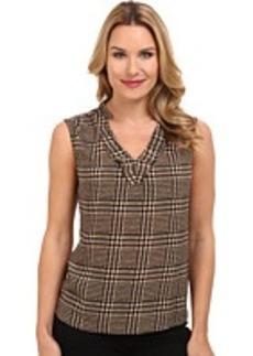 Jones New York Easy Pullover S/L Blouse