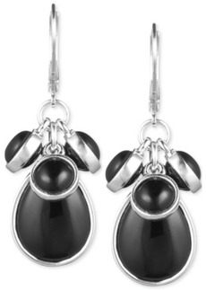 Jones New York Epoxy Stone Cluster Earrings