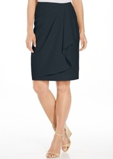 Jones New York Faux-Wrap Skirt