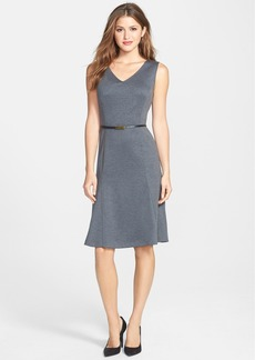 Jones New York Fit & Flare Ponte Dress