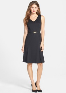 Jones New York Fit & Flare Ponte Dress