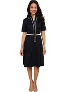Jones New York Fit & Flare Shirt Dress