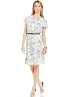Jones New York Flutter Sleeve Dress