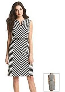 Jones New York® Geo Jacquard Dress