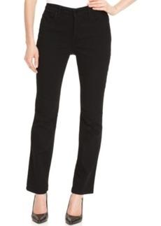 Jones New York Jeans, Gramercy Curvy Straight-Leg, Black Wash