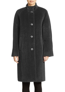 JONES NEW YORK Long Alpacal-Blend Coat