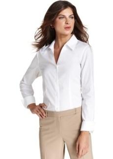 Jones New York Long-Sleeve Wrinkle-Resistant Shirt