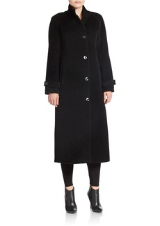 JONES NEW YORK Long Wool-Blend Coat